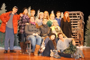 the cast of Almost, Maine